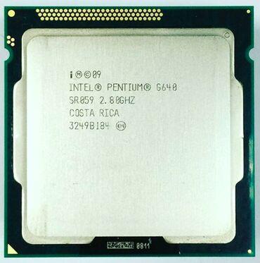 Dok-stansiya Azərbaycanda: Intel® Pentium® Processor G640 Dual-Core 3M Cache, 2.80 GHzsay var
