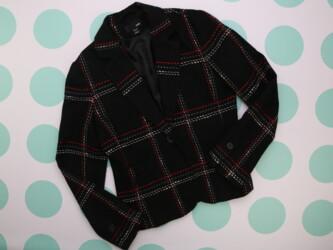 Женский теплый пиджак H&M, р. M-L    Длина: 60 см Плечи: 42 см По