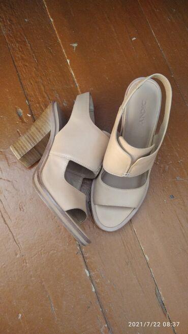 Личные вещи - Чолпон-Ата: Обувь DKNY оригинал 37_ размер кожа.Одевалось 1 раз. Подойдёт на 36