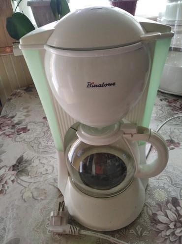колба для кофеварки филипс в Кыргызстан: Кофеварка Binatone,рабочая,в хорошем состоянии,не дорого. Для любителе