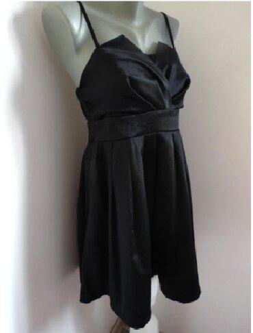 Crna sirena haljina - Srbija: AMISU haljina od satena 40 vel Haljinica sa podesivim bretelicama, od
