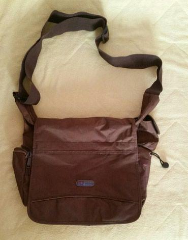 Nenosena platnena sportska torba,prakticno je nova,vrlo prostrana,ima - Krusevac