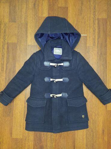 Верхняя одежда в Кыргызстан: Пальто Gulliver на мальчика 3-4 года. Кашемир + шерсть. В отличном