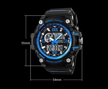 gold часы в Кыргызстан: Часы SKMEI 1283Водонепроницаемость 50 АТМ.Ударопрочность корпуса и