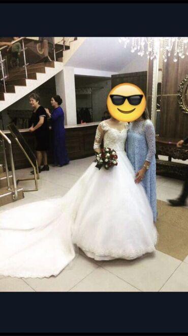 1808 объявлений: Продаётся свадебное платье.  Цвет:Айвори, шлейф собирается. Сшили на з