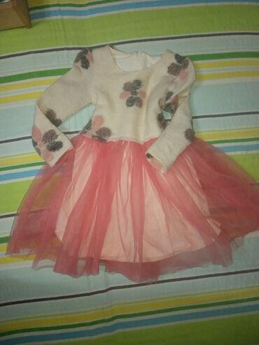 Dečija odeća i obuća - Knjazevac: Zimska haljinica za devojcice 110 broj 700 dinara
