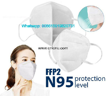 N95 Mouth Mask FFP2 KN95 Protective Level Masks ProtectiveModel