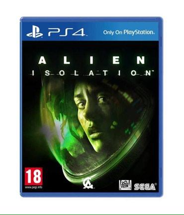 Bakı şəhərində Ps4 ucun Alien oyunu bagli upokovkada orginal