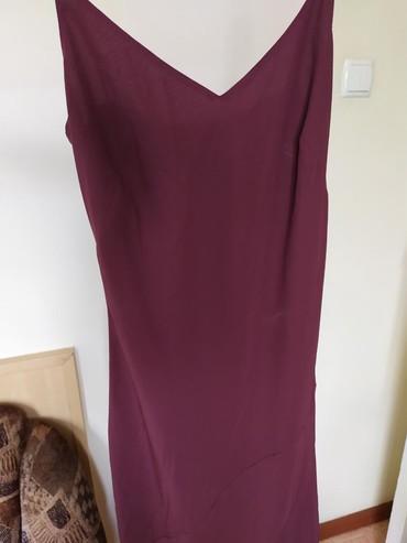 вечернее женское платье в Кыргызстан: Женское вечернее платье. В хорошем состоянии, б.у. Размер 40-42. Цвет