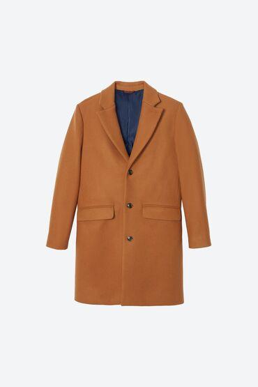 """Пальто из 100% шерсти, сделано в Италии фирма «BONOBOS"""". Это универса"""
