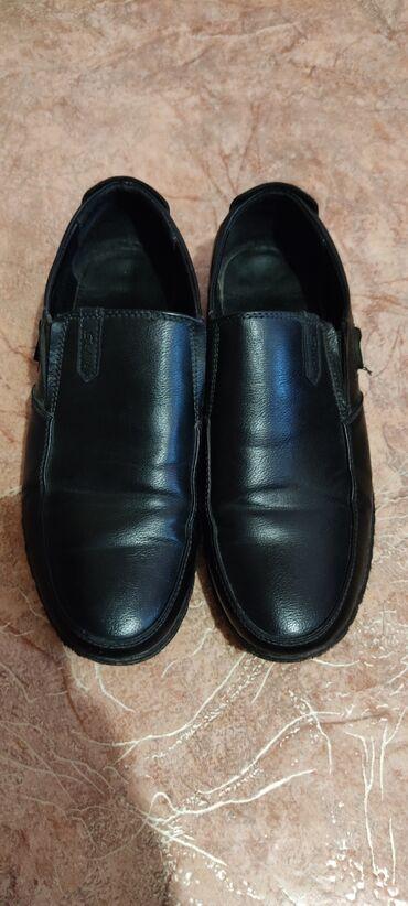 Туфли из экокожи на мальчика 36 размер 24 см по стельке в отличном