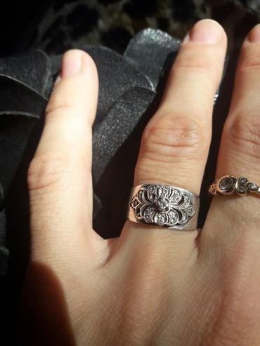 Серебряное кольцо в Бишкек