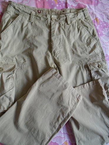 Očuvane, kvalitetne muške pantalone sa dzepovima, od tanjeg - Beograd