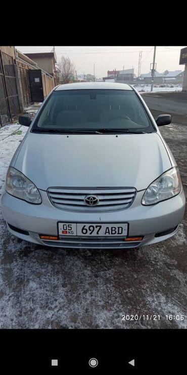 авто видео регистратор в Кыргызстан: Toyota Corolla 1.8 л. 2007   208000 км