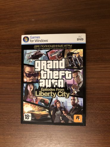 Bakı şəhərində GTA Liberty City for windows