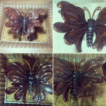 Бабочка декоративная резная из в Бишкек