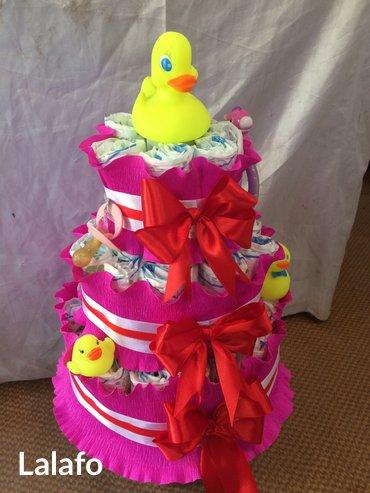 Подарки для новорожденных. торт из в Бишкек