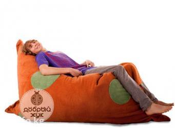 Подушка XL - Бин бег или кресло мешок, пуфик. Способов ее
