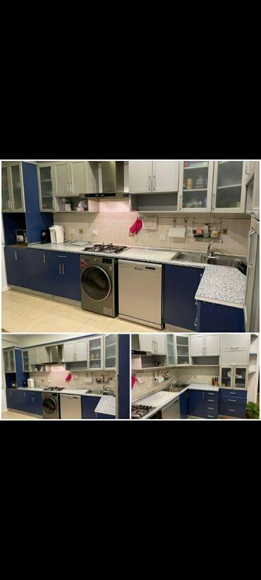 Дом и сад - Атджалар: Кухонный мебельный гарнитур, Мойка | Аспиратор, Газовая печь