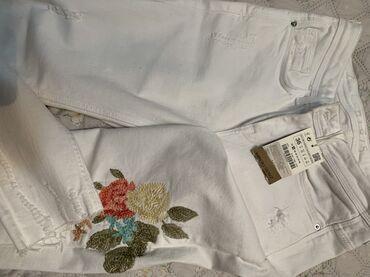 Шикарные белые джинсы Zara!!! Новые, ни разу не носила. На лето самое
