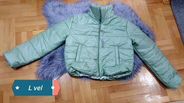 Zelena jakna nova L