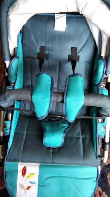 Детский мир - Каракол: Трёхколёсная коляска2 в 1брали за 16000Для новорожденных можно