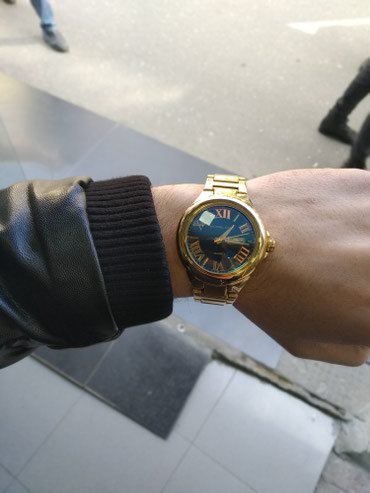 Bakı şəhərində Kişi Qızılı Dəbli Qol saatı VIP Time Italy
