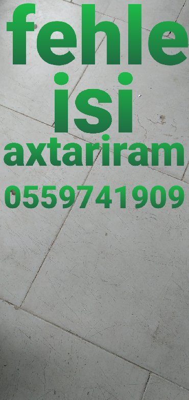 derzi isi axtariram 2018 в Азербайджан: Fehle isi axtariram