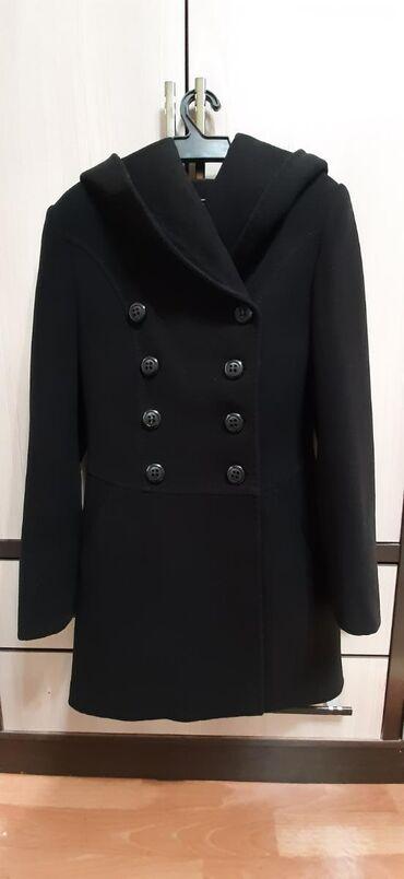 """пальто в Кыргызстан: Пальто """"KENT"""" с капюшоном, кашемир"""