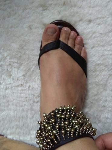 Sandale japanke 37,nosene jednom,prelepo stoje vidi slike - Sombor - slika 3