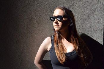 Знаменитые Пиксельные очки Thug LifeСтань самым классным и стильным