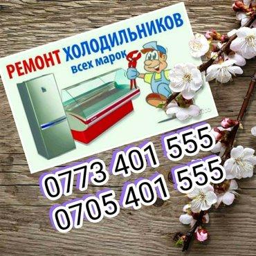 Ремонт и обслуживание холодильников и морозильников в Бишкек