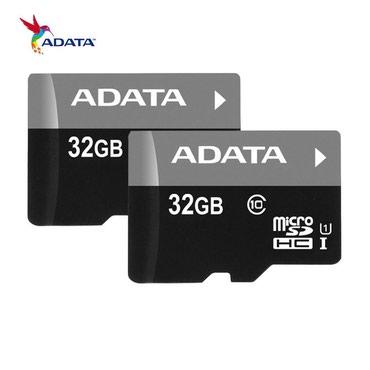 карты памяти для видеорегистратора в Кыргызстан: Купить micro SD Card (ADATA 32GB Class10) Бишкек Объем