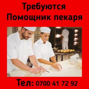 работа в садике с ребенком бишкек в Кыргызстан: Повар Пекарь. Пишпек