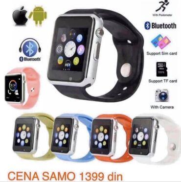 Smart watch Pametni satovi Veliki izborSlika 1 model a1 1399 dinSlika