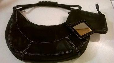 Μαύρη δερμάτινη τσάντα enzo angiolini. Ένα σε Athens
