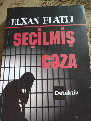 İdman və hobbi - Şirvan: Elxan Elatlı- Seçilmiş cəza. Kitab 1 dəfə oxunub, içi tamamilə təzə