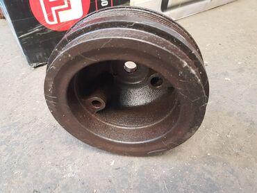 Mitsubishi Pajero, шкив коленвала. Митсубиси Паджеро 6g72, 3.0 бензин
