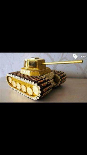 Модели кораблей - Бишкек: Esgerler ucun gozel hediyye. Sokolad tank
