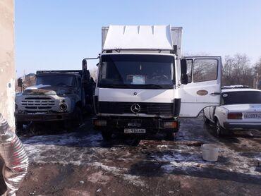 mercedes benz 814 в Кыргызстан: Mercedes-benz 814 6 куб, гидро лопата 6тонный Колесо 80% новый
