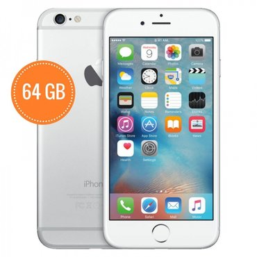 Продаю iphone 6s silver 64gb в отличном в Бишкек