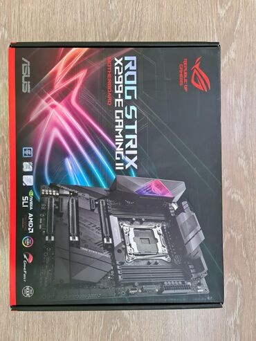 Продаю эксклюзивную материнскую плату Asus ROG Strix X299-E Gaming   