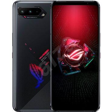 Asus ROG Phone 5   256 ГБ   Черный Б/у   Сенсорный, Отпечаток пальца, Две SIM карты