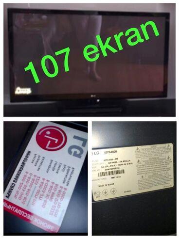 Led 107 ekran tv 2012 model 270 manata satilir,smart deyil.Problemi
