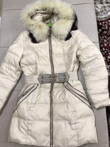 Зимняя куртка б/ув отличном состоянии. Натуральный мех,очень тёплая