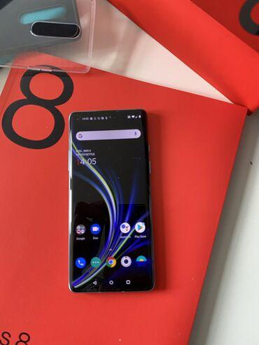 OnePlus - Кыргызстан: Oneplus 8 8/128gb как новый! Цвет черный. Комплект полный, состояние