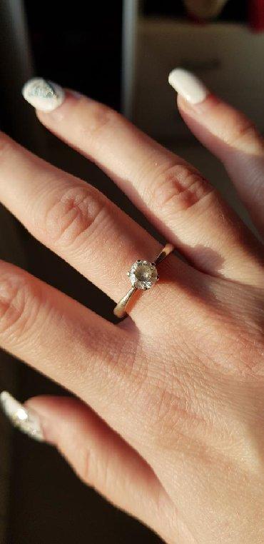 Srebro-prsten - Srbija: Prsten srebro 925 Precnik 2cm