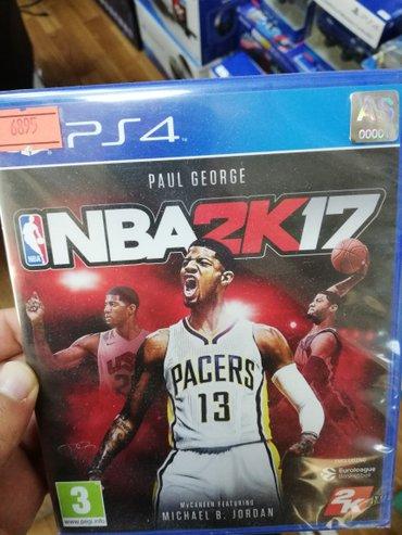 Bakı şəhərində Ps4 üçün NBA 17 oyun diski