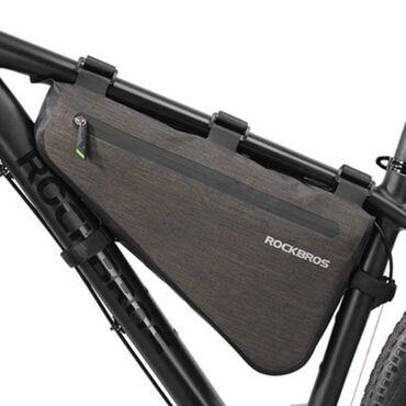 Водонепроницаемая велосипедная сумка на раму, треугольная сумка на