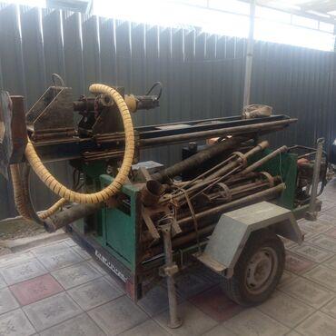 продажа бу инструмента в Кыргызстан: Продаю не спеша Малогабаритный гидравлический буровой станок на воду